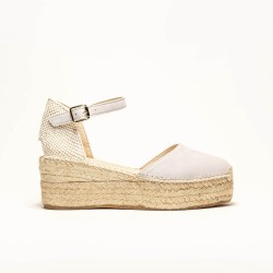 Sandalia de Ante Gris