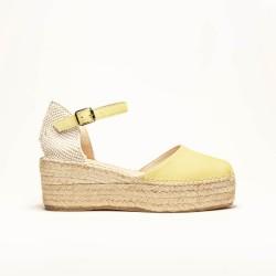 Sandalia de Ante Amarillo
